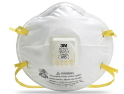 3M™ 8210V N95 Particulate Respirator