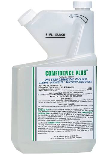 MSA Confidence Plus Germicidal Cleaner